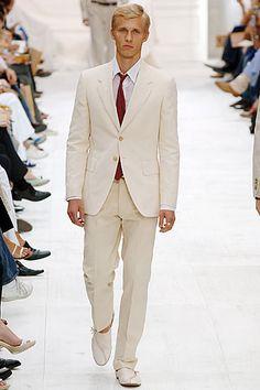 Groom will wear white suit