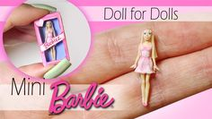 how to: miniature Barbie doll