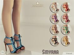 The Sims Resource: Madlen Smyrna Shoes by MJ95 • Sims 4 Downloads