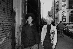 Jean-Michel Basquiat & Andy Warhol by Ricky Powell