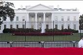 New jumper undaunted by new White House fence