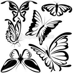 трафаретные бабочки на ногтях: 4 тыс изображений найдено в Яндекс.Картинках