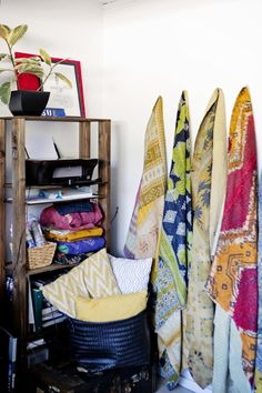 Kantha Quilts from west elm
