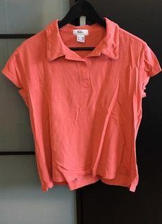 Kaufe meinen Artikel bei #Kleiderkreisel http://www.kleiderkreisel.de/damenmode/kurzarmlig/116885430-lachsfarbenes-polo-shirt-ungetragen