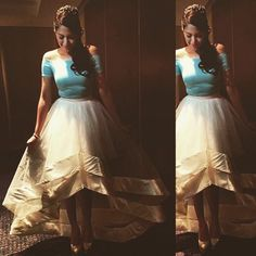 """JANE OINEZA steals everyone's attention in a custom top and skirt. Ballet Skirt, Lifestyle, Celebrities, Skirts, Instagram, Tops, Fashion, Moda, Skirt"