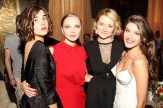 Мария Андреева, Екатерина Вилкова, Надежда Михалкова и Анна Чиповская на ARNE InStyle Gala Dinner 2013