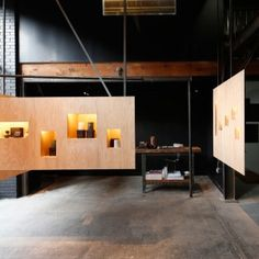 Taylor+and+Miller+creates+a+retail+space+within+a+working+candle+factory