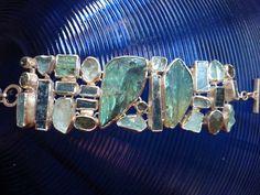 Blaue Schönheit von chris-tho/ schmuckdesign auf DaWanda.com