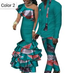 African couple Cotton clothing wax printing Women Skirt and Men's Shirt Pants Couples African Outfits, African Attire For Men, African Prom Dresses, African Clothing For Men, African Shirts, African Dresses For Women, African Wear, African Fashion Ankara, Latest African Fashion Dresses
