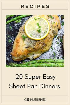 Getting a home-cooked meal on the table every week night can be stressful and exhausting. That's why we love sheet-pan dinners so darn much.