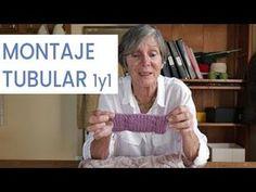 Aprendiendo a #tejer ➜ Montaje tubular 1 y 1 ➜ Técnicas y secretos para tejer con Lucila - YouTube