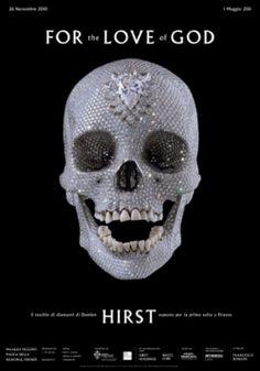89df65026206 Damien Hirst Figuratif, Art Contemporain, Crane Humain, Dessin Squelette,  Crânes Artistiques,