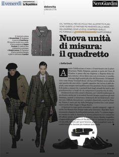 Il Venerdì di Repubblica - 5 settembre 2014 #nerogiardini #belts