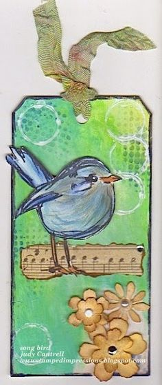 Stamped Impressions: Song Bird