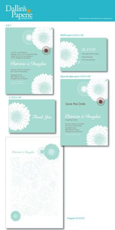 Items similar to Dandelion Wedding Invitation RSVP Thank your card Save the date DIY Printable - Customized on Etsy