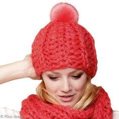 Tricoter un bonnet en côtes anglaises
