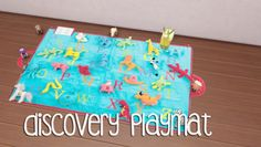 Discovery playmat at Akai Sims via Sims 4 Updates