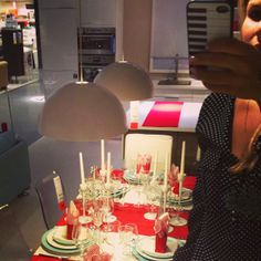 Selfie at IKEA - Design by Me Ikea Christmas, Ikea Design, Selfies, Table Decorations, Home Decor, Interiors, Decoration Home, Room Decor, Dinner Table Decorations