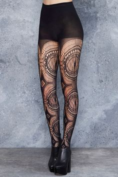 Evil Eye Hosiery - LIMITED ($40AUD) by BlackMilk Clothing