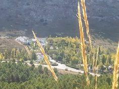 Restaurante el Nacimiento (camping el Torcal) ubicado en un entorno único.
