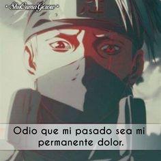 Odio que mi pasado.. #ShuOumaGcrow #Anime #Frases_anime #frases