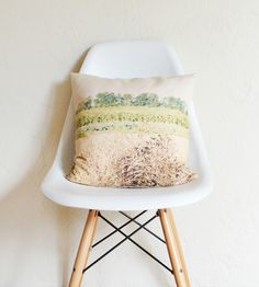 The Field Photo Pillow Cover//