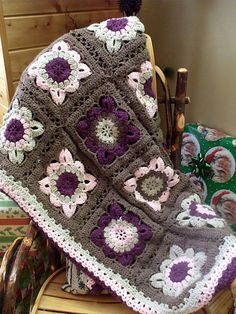 Ravelry: scrappindeb's Autumn Blanket