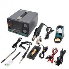 Deluxe Cell Phone Repair Tool Kits Professional SS-T12A-F CPU Motherboard Heating Table Repair Disassembly Platform Repair Kits