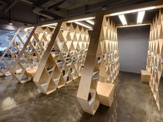 Architectural Joinery unit/shelving