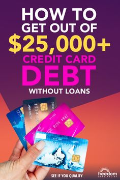 Get out of debt and on with your life. Freedom Debt Relief offers a way out - no loan required. Find out how Freedom Debt Relief has already helped over 150,000 customers resolve debt with their proven program. Answer a few questions to see if you qualify.