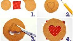 Nähanleitung für Kekse mit Marmeladenfüllung