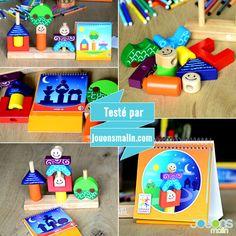 Jour et Nuit de @smartgames, un jeu de réflexion qui fera chauffer le cerveau des jeunes enfants. En mode « jour » ou en mode « nuit » pour plus de défi ! #smartgames #jouretnuit  #cassetete #enfants #jeu