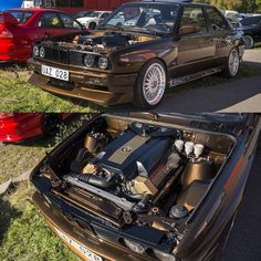 """""""V8 swaps looks so good. And so does brown  @danielllarsson   @camillast_photography"""""""