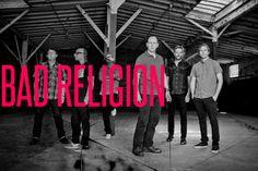 De levende legendene i Bad Religion kommer til Slottsfjell i sommer. Vi ser utrolig frem til å se dem i sommer