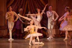 "Samantha Galler and Alana Czernobil in ""The Sleeping Beauty"" Photo by Arik Sokol"