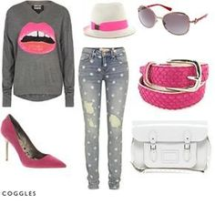pink teen girl outfits - Google Search