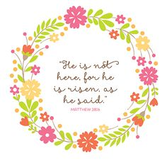 Free Easter printable - perfect for framing