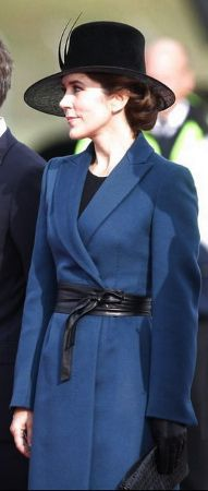 HRH Mary, Crown Princess of Denmark, Countess of Monpezat, September 18, 2013.