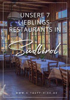 Essen in Südtirol: Heute möchten wir euch unsere 7 Lieblingsrestaurants in Südtirol vorstellen. Dabei zeigen wir euch italienische Küche, klassische Südtiroler-Alpenküche sowie Küchen mit dem gewissen Etwas. #Südtirol #Kulinarisch