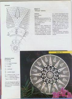 """Photo from album """"Moje robotki on Yandex. Irish Crochet Patterns, Crochet Doily Diagram, Crochet Mandala Pattern, Crochet Circles, Doily Patterns, Crochet Squares, Dream Catcher Patterns, Dream Catcher Mandala, Flower Chart"""