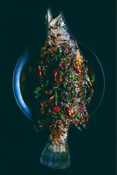 Sichuan Braised Whole Fish with pickled chilies and ginger | Hello My Dumpling