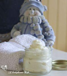 whipped Body Butter - great Christmas gift! adelightsomelife.com