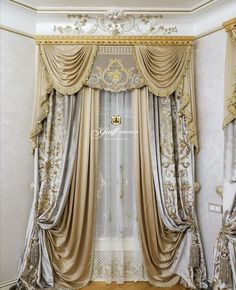 Curtains And Draperies, Drapery, Cornice, Valance, Classic Curtains, Decoration, Window Treatments, Luxury Homes, Blinds