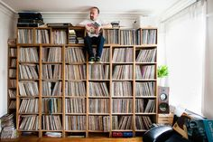 """""""A WINDOW INTO A PERSON'S ENTIRE LIFE"""": WE INTERVIEW THE MAN WHO PHOTOGRAPHS THE WORLD'S GREATEST RECORD COLLECTIONS"""