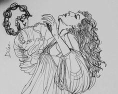 Beautiful fan art of Florence Welch