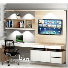 Study Table Designs, Study Room Design, Boys Room Design, Bedroom Tv Cabinet, Tv In Bedroom, Bedroom Decor, Modern Bedroom Design, Home Office Design, Hall Furniture
