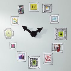 Picture Frame Clock Decal | PBteen