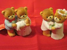 Two Pairs of New Lucy Me Bears
