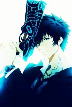 Psycho-Pass ~~ Kogami and the smartest damned gun you'll ever hope NOT to see!