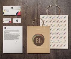 Bagbird's Co. by Alex Omit, via Behance